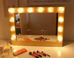 stand alone mirror with lights vanity mirror with lights house decorations