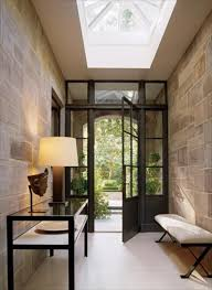 Define Foyer decorating with stone inside the home