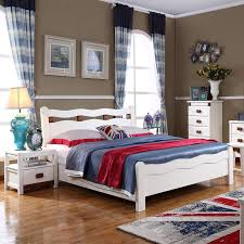 Cheap White Bedroom Furniture by Mediterranean Wood Bed White Bedroom Furniture Double Agent Cedar