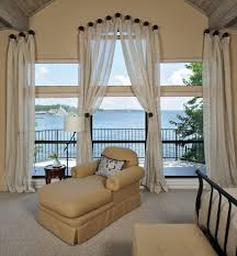 balcony curtain curtain rod finials convention houston traditional bedroom image
