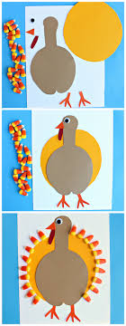 corn turkey craft thanksgiving craft for to make