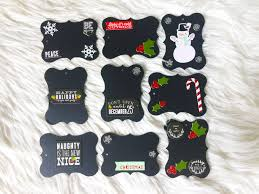 quick and easy reusable chalkboard christmas gift tags riss