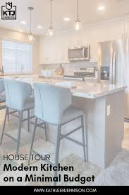modern kitchen cabinets on a budget house tour modern kitchen on a minimal budget ktj design co