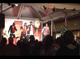 macy s tree lighting boston ahmir live macy s christmas tree lighting boston youtube