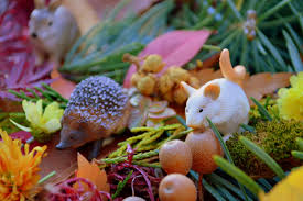 thanksgiving sensory bin fall and thanksgiving inspired forest animals sensory