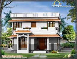 Front Elevations Of Indian Economy Houses by Latest Indian Style 3d House Elevations Kerala Home Design And