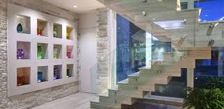 custom glass stairs glass staircases and railings florida