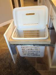 Pull Out Laundry Cabinet For A Handy Place To Throw Your Laundry Install This Pull Out