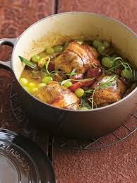 cuisiner les pigeons recette de pigeon aux raisins la recette facile
