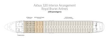 Air India Seat Map by Fleet Information Royal Brunei Airlines
