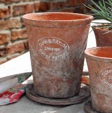 bowley u0026 jackson traditional clay plant pot with terracotta dish