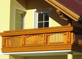 balkone holz holz classic bruck leeb balkone und zäune