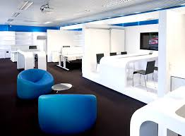 Contemporary Office Interior Design by Modern Office Interior Design And Stylish Blue Chair The Perfect