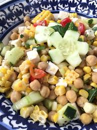 mediterranean summer salad u2014 measure u0026 pinch