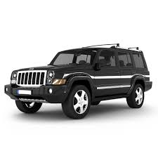 suv jeep black 3d model jeep commander suv cgtrader