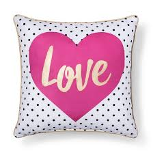 love throw pillow pink 18