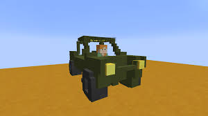 minecraft working car i made drive able cars in vanilla minecraft with a first person