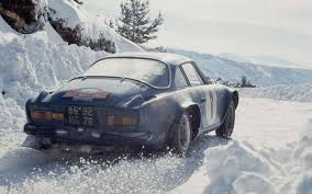 alpine renault a110 50 1973 monte carlo the alpine renault a110 of bernard darniche and