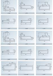 Kitchen Cabinet Door Profiles China Aluminum Extruded Profile Aluminium Frame Aluminium Kitchen