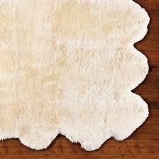 sheepskin bath mat sheepskin area rug frontgate