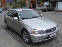 lexus is van car model lexus is200