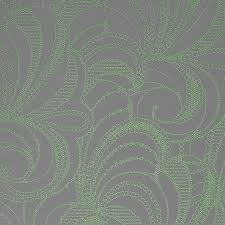 Contemporary Wallpaper Mint Green Romance Ornamental Wallpaper Walls Republic Green