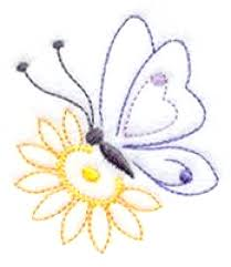 beautiful embroidery designs flowers and butterflies