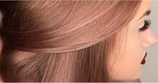 rose gold hair color rose gold hair color inspiration popsugar beauty