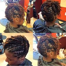 hair styles for locked hair short locs style of the week loc luv pinterest locs