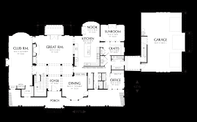 sunroom floor plans mascord house plan 2418 the parnell