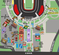 Sleep Train Amphitheater Map Chain Of Flowers Denver Riot Fest Maps