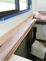 Installing Laminate Flooring In Motorhome How To Create Wood Counters From Flooring In A Rv