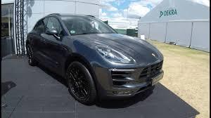Porsche Macan Grey - porsche macan gts new model 2017 vulcan grey colour