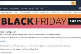 amazon black friday 2016 when amazon starts countdown to black friday news retail jeweller