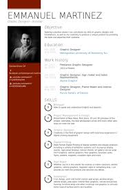 resume examples sample graphic design resumes within 21