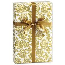 gold gift wrap new printed wrapping paper wholesale discounts bags bows
