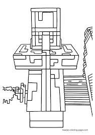 minecraft coloring pages coloring kids