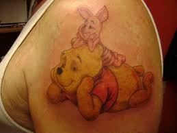 best friends winnie the pooh and piglet chill out together in this