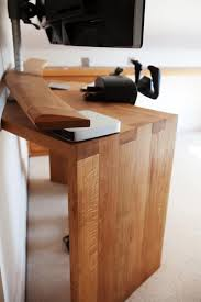 Oak Study Desk Bespoke Oak Desk Wood Works Brighton