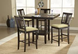 how tall is a dining table dining room square tall kitchen table with seating for 4 and