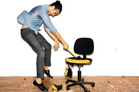 leaning stool for standing desk standing desk office chair accessories every owner should have