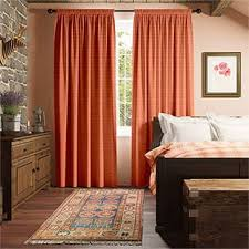 Red Orange Curtains Orange Curtains 2go Plain Striped And Patterned Bright Orange