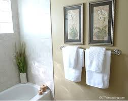 Towel Rack Ideas For Bathroom Hanging Bathroom Towel Designs Photogiraffe Me