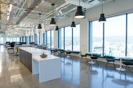 gensler oakland office lightlive blog the largely open concept