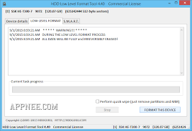 format hard disk tool low level format tool hard disk repair and irrecoverable data