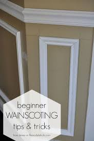 beginner tips and tricks for installing trim wainscoting shadow