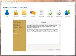 Resume Builder Software Builder Software Free