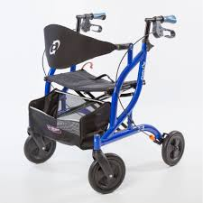 Transport Walker Chair Airgo Fusion Side Folding Rollator U0026 Transport Chair Ac Mobility