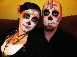 sugar skull face painting proposed halloween effort the