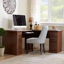 Computer On A Desk Computer Desk With Doors Wayfair